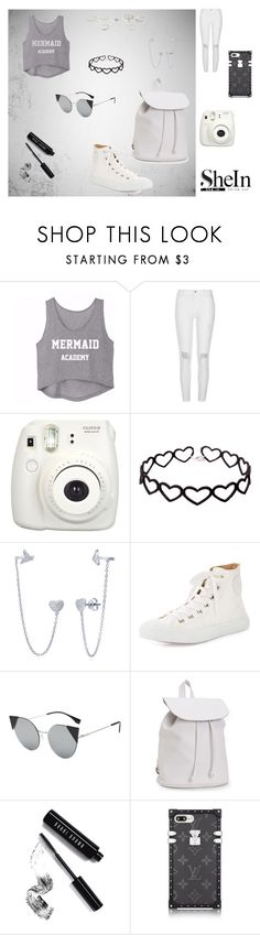 """""""She in"""" by queen-arine ❤ liked on Polyvore featuring River Island, Fujifilm, BERRICLE, Chloé, Aéropostale and Bobbi Brown Cosmetics"""
