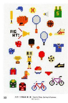 sports cross stitch