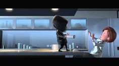 "The Incredibles on Blu-ray: ""Ednas Pep Talk"" - Clip"