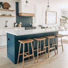 Modern Counter Stools, Stools For Kitchen Island, Kitchen Seating, Modern Stools, Kitchen With Bar Counter, Kitchen Without Island, Leather Counter Stools, Counter Height Bar Stools, Wood Bar Stools