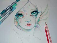 """Marina the Mermaid""  By: lighane.deviantart"