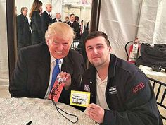 Trump Offers Father Down on His Luck $10,000 Check at Inaugural Event