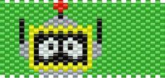 plex bead pattern