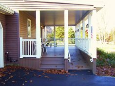 fill in existing front porch - Google Search