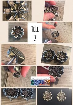 Recycled Crafts, Diy And Crafts, Chat Crochet, Bijoux Fil Aluminium, Beaded Angels, Homemade Jewelry, Bijoux Diy, Beads And Wire, Jewelry Crafts