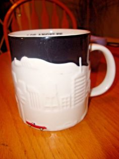 Starbucks Coffee Mug Los Angeles LA Relief Collector Series Cup 2012 Unused #Starbucks #mugssteins