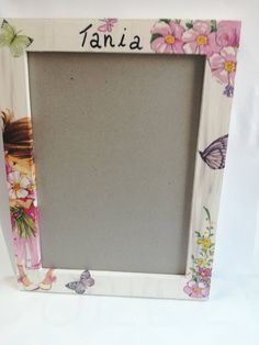 Photo frame by DedeHandmadeJewels on Etsy