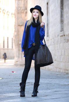 36 Fantastic Ways to Add Blue to Your Wardrobe | Blue Fashion