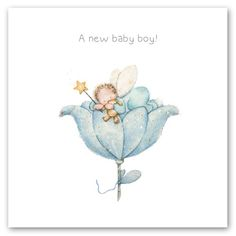 Cards » A new baby boy » A new baby boy - Berni Parker Designs