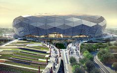 QATAR Foundation Stadium Design