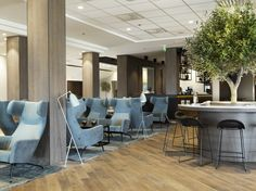 Quality Airport Hotel Stavanger design by Sias Stavanger, Interior Architecture, Interior Design, Airport Hotel, Outdoor Furniture Sets, Outdoor Decor, Pond, Projects, Studio