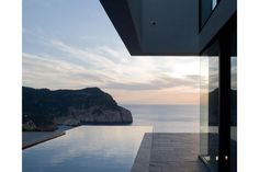 150 m High Cliff Hanging ABIS Villa in Spain by Aabe Architects from Belgium