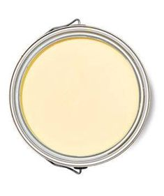 Best Yellow for a Bedroom Benjamin Moore, Moonlight Natura Paint Color with white moulding