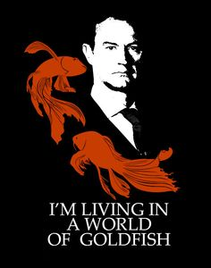 world of goldfish - Mycroft Sherlock T-shirt on Etsy, $9.37 CAD