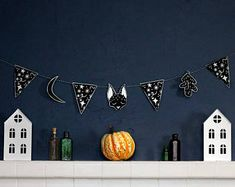 Halloween garland by Steph Gale
