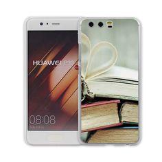MOUGOL reading books design transparent hard case cover for Huawei P10 P9 Plus P8 P9 lite Mate S 9 8