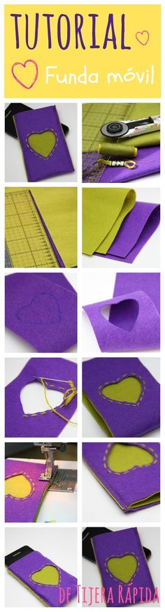 Tutorial funda movil - movil case tutorial