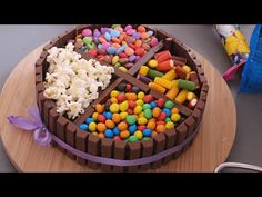 CandyCake -  der perfekte Kuchen zum Kindergeburtstag - YouTube