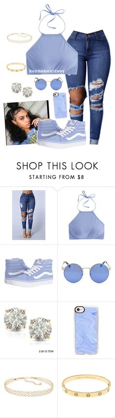 """bounce that sh*t like woah "" by kennanextdoor ❤ liked on Polyvore featuring J.Crew, Vans, Auriya, Casetify and Panacea"