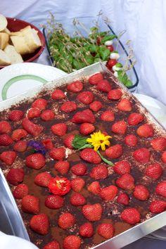"Strawberry Tiramisu by ""Die Landfrau"". Nammmi"