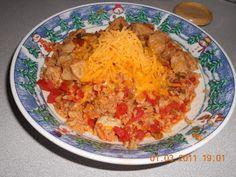 Fantastical Sharing of Recipes: Spanish Rice & Pork Chops