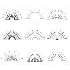 Stock Vector - Illustration of radial, boho: 73491548