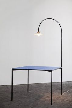Muller van Severen, table + lamp