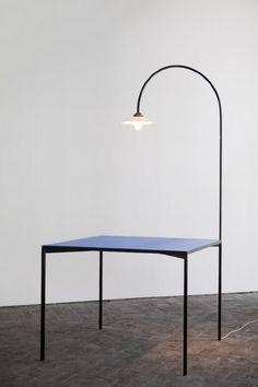 Muller van Severen, table + lamp