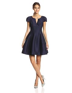 HALSTON HERITAGE Women's Silk Faille Cap Sleeve Tulip Hem Cocktail Dress, Midnight, 6 Halston Heritage http://smile.amazon.com/dp/B00LM1X0T4/ref=cm_sw_r_pi_dp_dCnAub00P4KHH