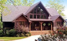 Plan W92352MX: Vacation, Sloping Lot, Photo Gallery, Craftsman, Mountain House Plans & Home Designs