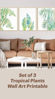 Diy Wall Decor, Home Decor, Luxury Bedding Sets, Plant Wall, Minimalist Poster, Outdoor Sofa, Printable Wall Art, Working Woman, Living Room