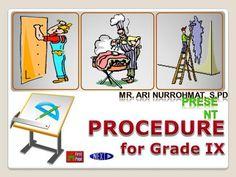 Mr. Ari Nurrohmat, S.Pd Present PROCEDURE for Grade IX.> Presents, Comics, Gifts, Favors, Cartoons, Comic, Gift, Comics And Cartoons, Comic Books