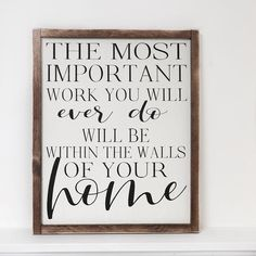 Home Quote 1620 farmhouse decor rustic sign wood sign farmhouse sign home sign Rustic Farmhouse Decor, Farmhouse Signs, Rustic Decor, Farmhouse Furniture, Country Farmhouse, Rustic Wood, Rustic Signs, Wooden Signs, Decorating Your Home