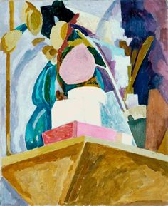 Vanessa Bell, 'Still Life on Corner of a Mantelpiece' 1914