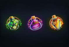 How to Create a Trio of Magical Potions in Paint Tool SAI  Design Envato Tuts Design & Illustration