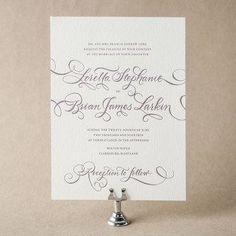 Loretta Formal Wedding Invitation Design