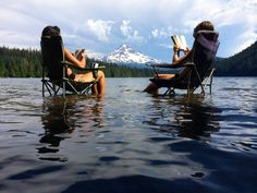 Lost Lake, Oregon - this is beautiful, just imagine the smell of the pines with…