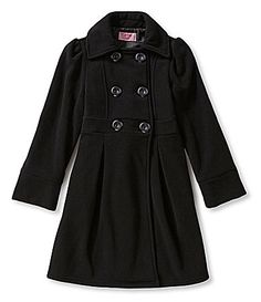 Copper Key 716 Long DoubleBreasted Coat #Dillards  Pickle Christmas w/scarf, gloves, and hat