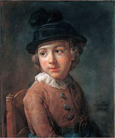 CHARDIN Jean-Baptiste-Simeon - French (1699 - 1779) ~  a child
