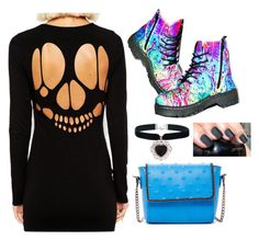 """Untitled #2318"" by if-i-were-famous1 ❤ liked on Polyvore featuring T.U.K., ASOS, Rock 'N Rose and Urban Expressions"