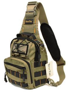 TravTac Stage I Sling Bag, Premium Small Everyday Carry Tactical Sling Pack Tactical Sling, Edc Tactical, Tactical Backpack, Sling Backpack, Tactical Survival, Laptop Backpack, Concealed Carry Backpack, Best Concealed Carry, Edc Bag