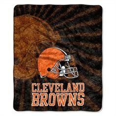 Cleveland Browns Sherpa 50 x 60 Jersey Throw Blanket