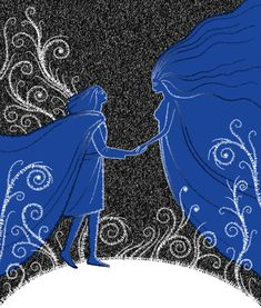 Thingol and Melian by ~zdrava on deviantART - - I was really impressed with this scene - something very powerful in the concept - Silmarillion LotR
