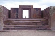 """Puma Punka Gateway, Tiahuanaco, Bolivia. Look at these awesome building's, with their walls aligned to the centimetre, no one can tell me these are not made by """"Our Friends""""  from outer space."""
