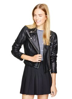 Every woman needs the perfect leather (or leather-ish!) jacket. This is a great option if you don't want to dish out the big bucks. (Talula Morton jacket, available at Aritzia.com.)