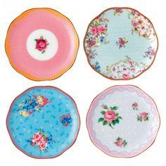 Candy Mini Plates, Set of 4 - Royal Albert | US