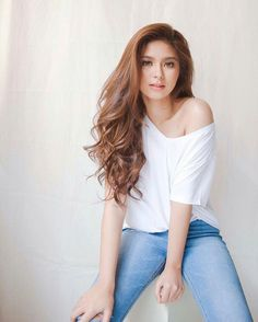 Ronnie Alonte, New Girl Style, Hot Actors, Pretty Face, Celebrity Crush, Hair Color, Beautiful Women, Actresses, Filipina