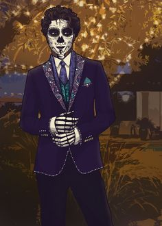 A Skeleton So Sweet -- Carlos from Welcome to Night Vale