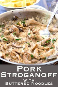 Leftover Pork Loin Recipes, Leftover Pork Chops, Pork Roast Recipes, Pork Tenderloin Recipes, Leftovers Recipes, Meat Recipes, Cooking Recipes, Leftover Pork Tenderloins, Recipe Using Leftover Pork Tenderloin
