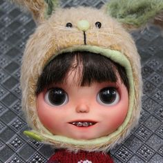 Ooak Custom Blythe doll original SBL with teeth  ang braces Banochita